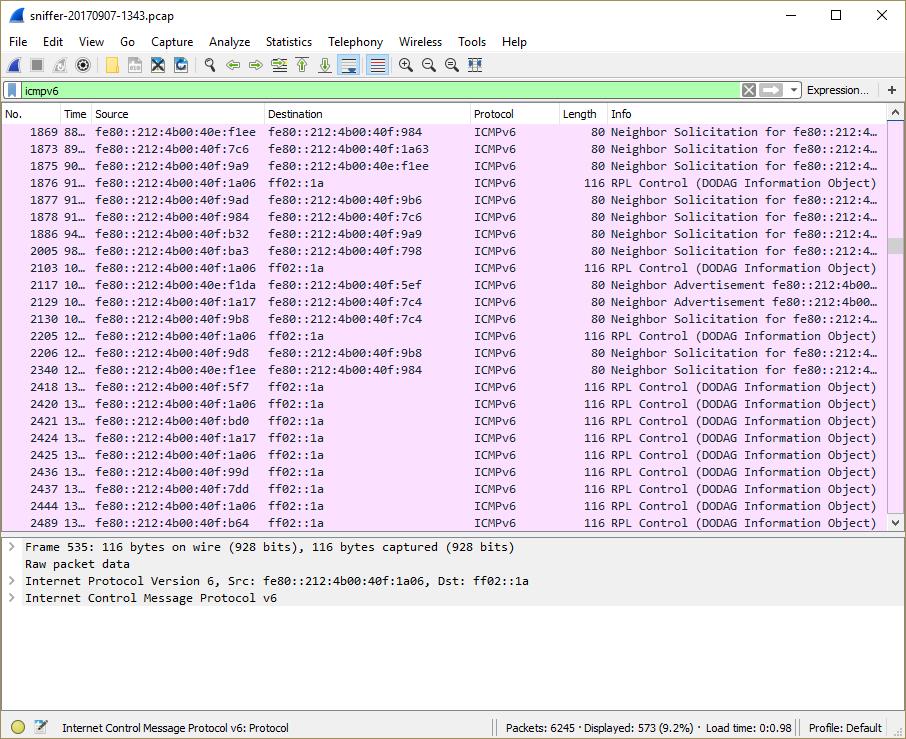 Inspection de la sécurité du réseau IoT du trafic TLS