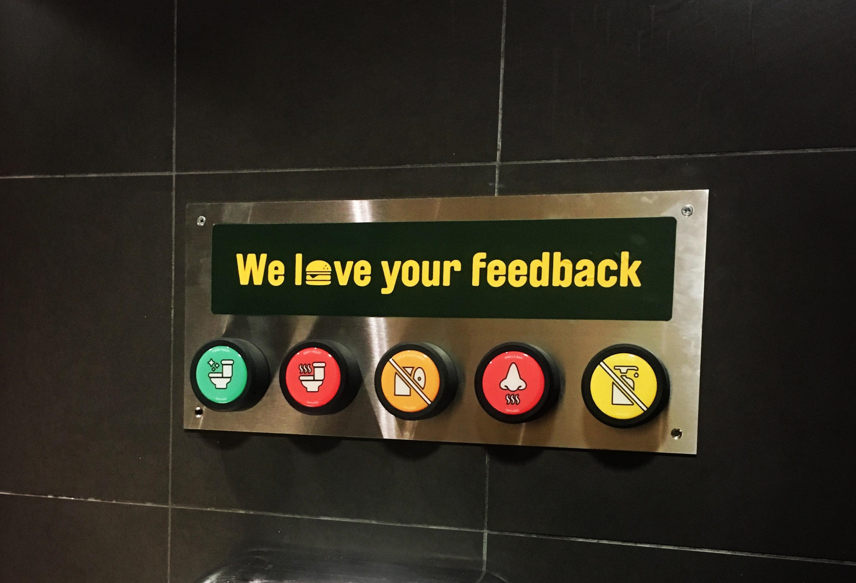 Boutons TryLikes chez McDonald's