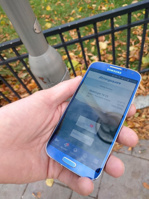 Positionnement de la plate-forme Thingsquare IoT avec des balises Bluetooth